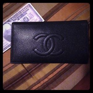 Chanel Black Authentic Wallet