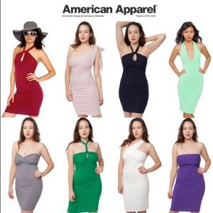 American Apparel Dresses & Skirts - American Apparel Bandeau Dress Sz S