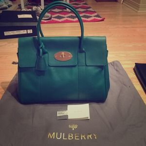 f2cdd5d700 Mulberry Bags - ❌SOLD❌mulberry bayswater Emerald rare  1850