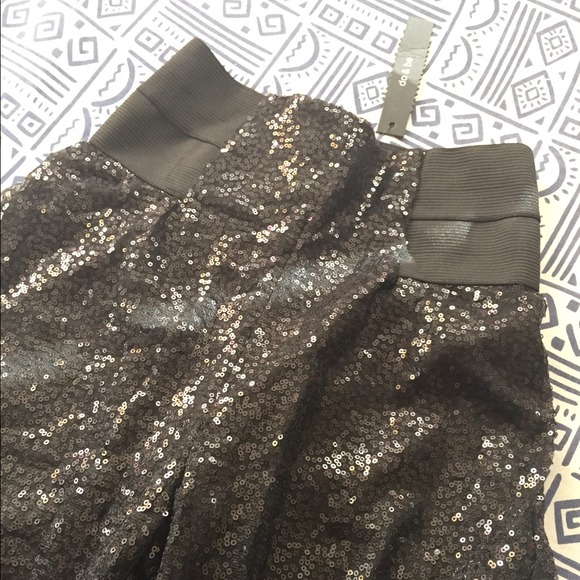 Foreign Exchange Pants - Sparkly Sequin Pants Sz Small