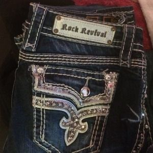 44% off Rock Revival Denim - Rock revival boot cut jeans size 25