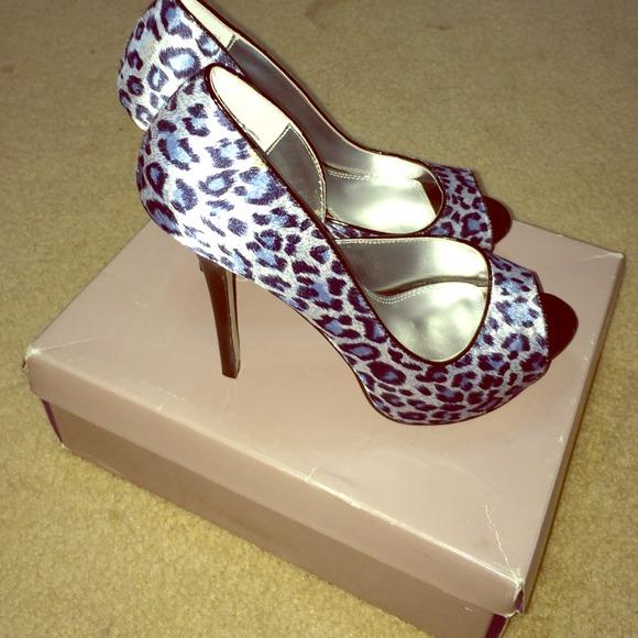 Gap Blue Leopard Shoes