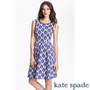 kate spade Dresses & Skirts - Kate Spade Matty Stretch Cotton Fit Flare Dress 6