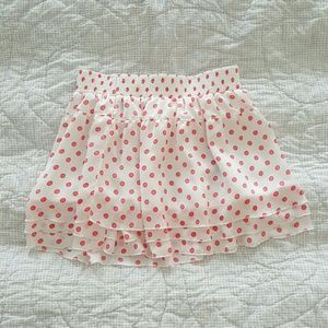 Polka Tommy Girl Skirt