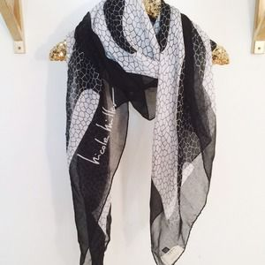 Nicole Miller Accessories - Graphic Printed Scarf