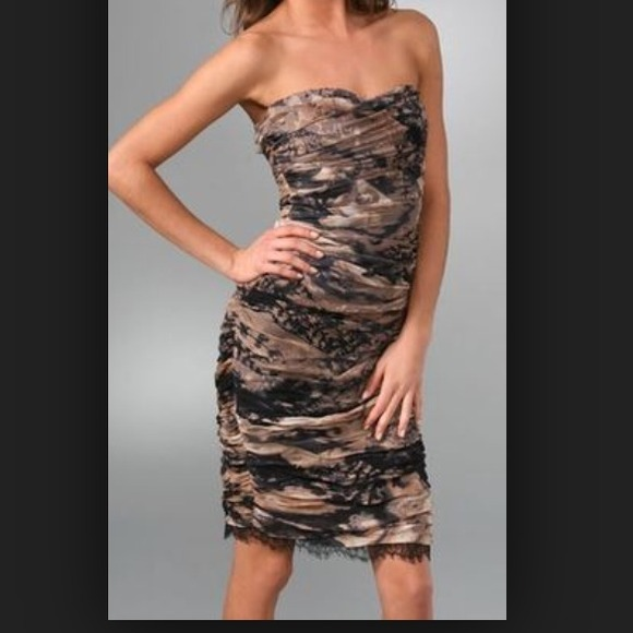Diane von Furstenberg Dresses   Dvf Strapless Lele Dress   Poshmark