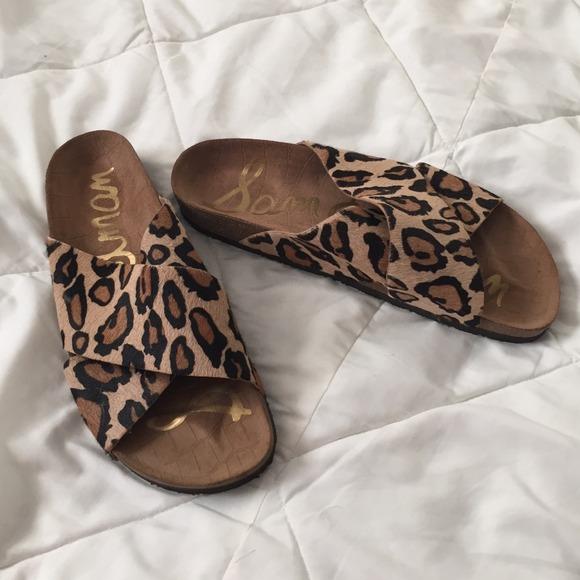 602d86427155 Sam Edelman Shoes - 🎉HOST PICK 1 7🎉 Cheetah Print Sandals