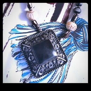 Jewelry - Unique Black Onyx inspired necklace