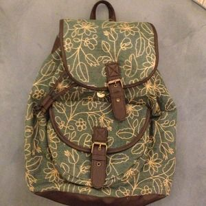 Handbags - Small canvas backpack