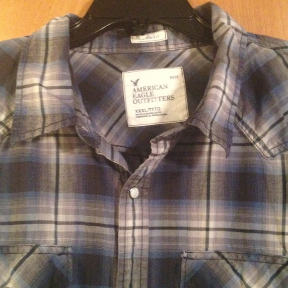 67 off american eagle outfitters other nice men 39 s for Nice mens button up shirts