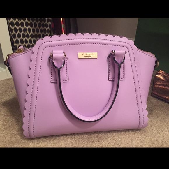 214172a7b6d1 kate spade Handbags - Kate Spade Lavender Scalloped Bag