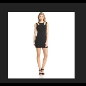 Little Black Dress.  Mink pink phantom song dress