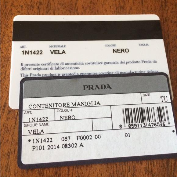 cost of prada wallet - 51% off Prada Clutches \u0026amp; Wallets - NWT PRADA Black Nylon Wristlet ...