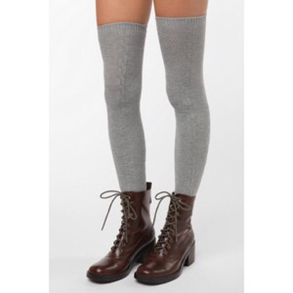 505f90484b29f Urban outfitters grey thigh high socks. M_549e4a20a632b64321116fcc