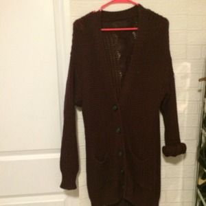 BRANDY MELVILLE MARRON CARDIGAN