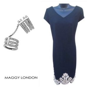 NWOT Maggy London Black Dress