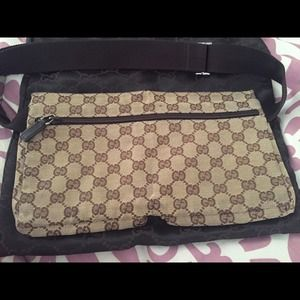 267c3140c5c90a Gucci Bags | 1 Day Sale 125 Authentic Canvas Hip Bag | Poshmark