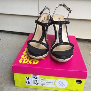 Charlotte Russe Shoes - Studded Wedges!