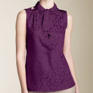Marc by Marc Jacobs Wild Cherry Silk Top