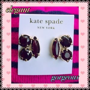 % Authentic Kate  Spade earring