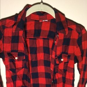 H&M Tops - Flannel (H&M)