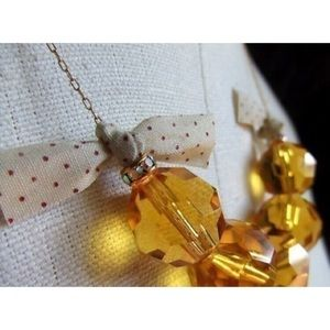 Jewelry - ❤ | Lucky mag favorite: amber glass necklace |