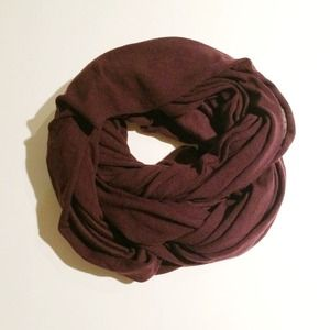Accessories - Marsala Infinity Scarf