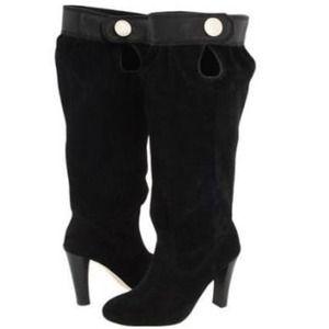 💖Michael Kors Harness Black Suede Boot 6.5💖