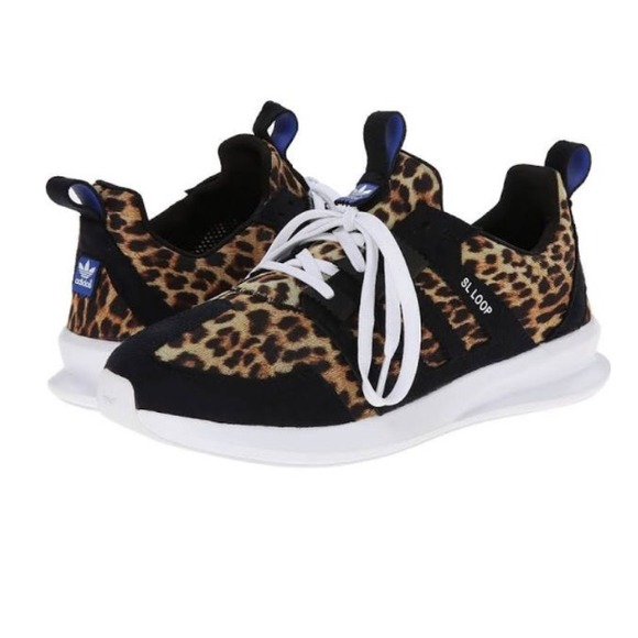 Lastest Adidas Superstar 80S Animal Pack Black Leopard Womens Shoes