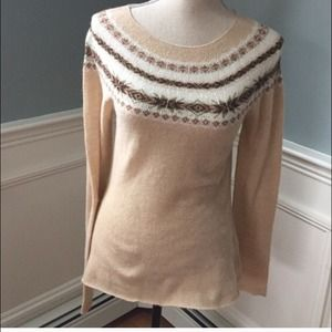 Banana Republic fair isle sweater