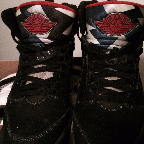 Air Jordan NIKE size 15 shoes red & black donation