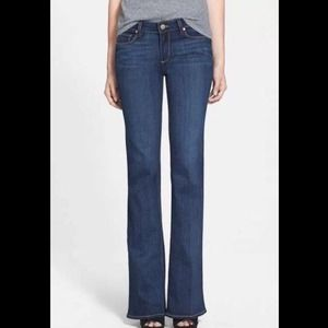Paige denim 'Skyline' boot jeans vista sz 30 $189