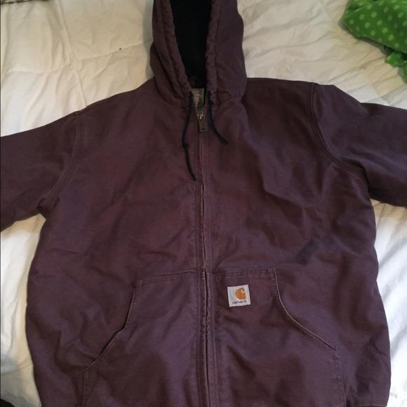 11f94b270b Carhartt Jackets & Coats | Womens Purple Jacket | Poshmark