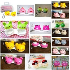 Other - 53 Cute animal contact lens cases