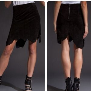 Kimberly Ovitz Dresses & Skirts - Kimberly Ovitz💀Scully Suede Skirts