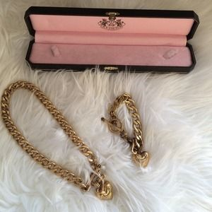 Juicy Couture Jewelry - Juicy Couture necklace and bracelet set