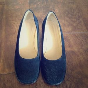 Marilyn anselm Shoes - Black suede shoes. Made in Italy