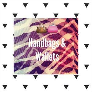Handbags - HANDBAGS & WALLETS.