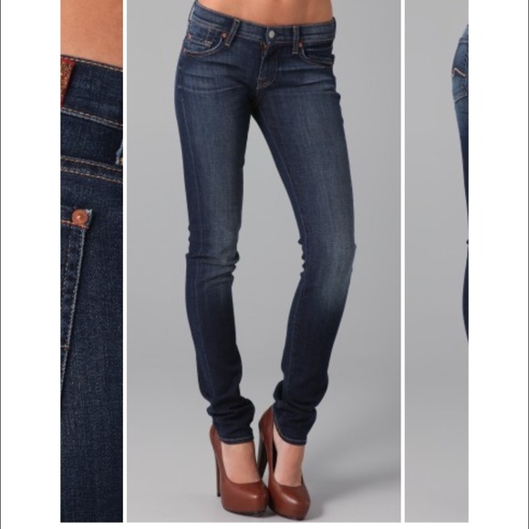 81% off Seven7 Denim - NWOT Seven Roxanne Skinny Jeans from