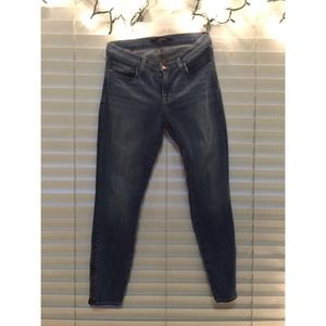 J brand skinny jeans with zip up legs