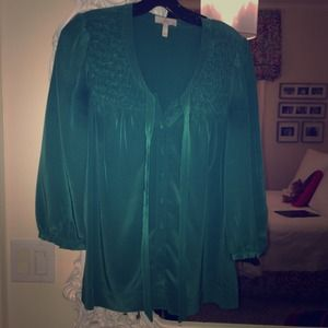 Joie silk long sleeve blouse