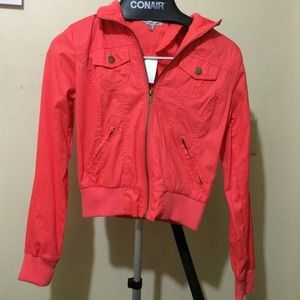 Charlotte Russe Jackets & Blazers - Orange Jacket