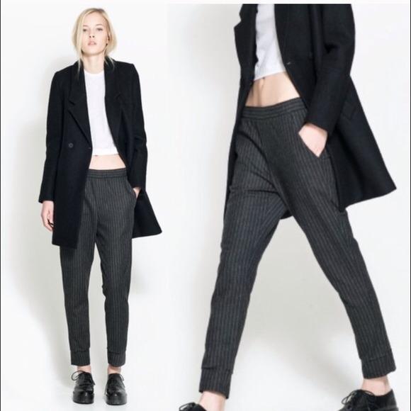 7c3d48a9 Zara Pants | Pinstripe Trousers | Poshmark
