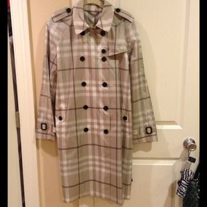 Authentic Burberry raincoat