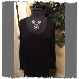 New!! Lane Bryant Black Sweater