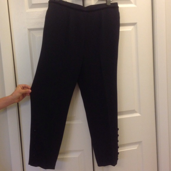 3a497708504f2 Designer Evening Pants - beautiful detail. NWT. Simon Chang