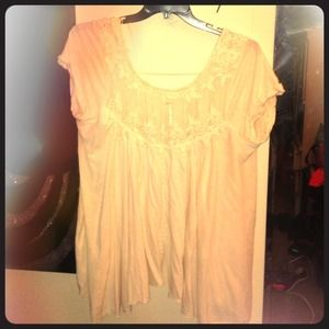 Free Peoples off white blouse size large