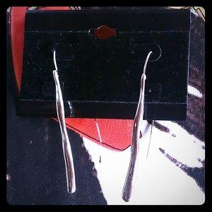 Jewelry - Silver tone dangle earrings