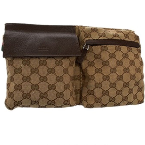 6821dda07533 Gucci Handbags - Authentic GUCCI GG Canvas Fanny Packs/Waist Packs