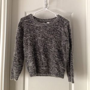 H&M Fuzzy Mohair Sweater